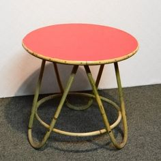Located using retrostart.com > Side Table by Unknown Designer for Rohé Noordwolde