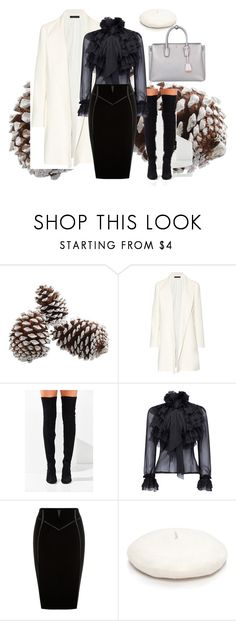 """2017 : winter desk"" by abelaz on Polyvore featuring mode, The Row, Jeffrey Campbell, New Directions et MCM"