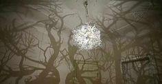 Forms in Nature: il lampadario che proietta una foresta nella tua stanza