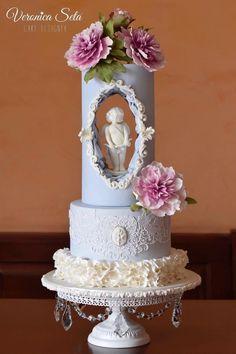 Cupid Valentine by Veronica Seta - http://cakesdecor.com/cakes/299762-cupid-valentine