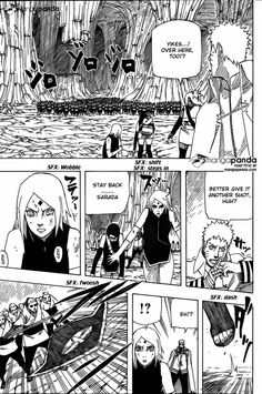 Naruto Gaiden: The Seventh Hokage 9 - Page 17 - love how Sakura was trying to protect Sarada but Sarada protected them instead