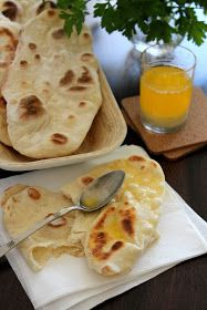Sünis kanál: Naan - indiai lepénykenyér Mango Lassi, Naan, Curry Recipes, Grilling, Recipies, Food And Drink, Yummy Food, Cooking, Ethnic Recipes