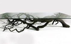 セバスチャンErrazurizによる木のコーヒーテーブル