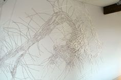 site-specific & expanded drawing: February 2013