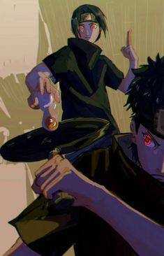 Uchiha Itachi and Shisui fry an egg, with Sharingans activated Itachi Uchiha, Naruto Shippuden Sasuke, Wallpaper Naruto Shippuden, Naruto Wallpaper, Anime Naruto, Manga Anime, Naruto Drawings, Rinne Sharingan, Wallpaper Memes