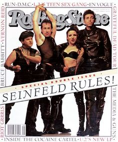 TV on the Cover of Rolling Stone Pictures - The Cast of 'Seinfeld' | Rolling Stone