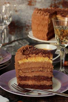 Sünis kanál: Mogyorókrémes torta
