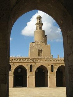 Ibn Tulun Mosque - Cairo, Egypt