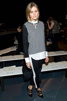 See who wore what in the front row seats of all the shows. Click for more!