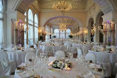 Luxury wedding venue with private beach, Wedding reception hall