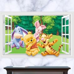 Winnie the Pooh Wall Stickers – the treasure thrift