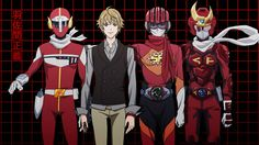Samurai Flamenco ~~ Hazama Masayoshi and some of his outfits. Clearly, he has a narrow color range. Samurai Flamenco, Afro Samurai, Wolf Children, Tiger And Bunny, Avatar Series, Anime Reviews, Asian Love, Funny Scenes, Anime Japan