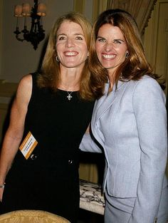 Caroline Kennedy & Maria Shriver - 2 strong, intelligent, independent, successful women who I really admire :)
