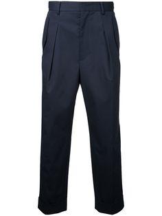 JUUN.J Cropped High Waist Trousers. #juun.j #cloth #trousers
