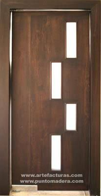 10 modern front doors designs 2015 interior design ideas for Puertas principales