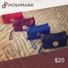 Elegant Makeup bag Comes with removable strap. Brand new. Price for ONE. Pick a color. Bags Cosmetic Bags & Cases