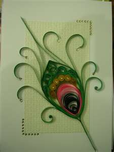 quilling greeting card by shreshtha24 artisan crafts folding ...