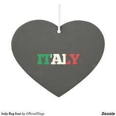 Italy flag  - Car Floor Mats License Plates, Air Fresheners, and other Automobile Accessories