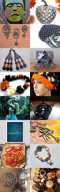 Halloween Fun by Arlene on Etsy--Pinned with TreasuryPin.com
