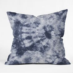 Buy Outdoor Throw Pillow with Tie Dye 3 Navy designed by Amy Sia. One of many amazing home décor accessories items available at Deny Designs. Textile Prints, Textiles, Outdoor Throw Pillows, Shibori, Ten, Home Collections, Home Decor Accessories, Throw Pillow Covers, Decor Styles