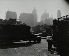 City Vista, West Street, looking east, Manhattan. (August 12, 1938). NYPL Digital Gallery.