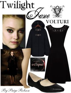"""Twilight: Jane"" by paige-robson ❤ liked on Polyvore"
