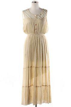 *** New Style ***CRISS-CROSS DETAIL MAXI DRESS