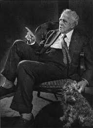Robert Frost photo by Yousuf Karsh // Frost was an American poet. One of America's most beloved poets, Robert Frost received four Pulitzer Prizes and was asked by John F. Kennedy to read one of his poems at the Presidential Inauguration Ernest Hemingway, Michel De Montaigne, Ansel Adams, Pablo Picasso, Martin Luther King, Muhammad Ali, Yousuf Karsh, Winston Churchill, Robert Frost Poems