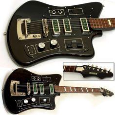 Guitar Blog: Soviet-era USSR B&G Formanta fuzz guitar