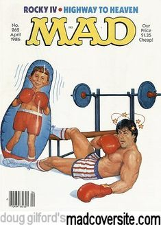 Mad Magazine No. 262 by Richard Williams [©1986]