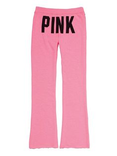 PINK NEW! 			Flare Pant #VictoriasSecret http://www.victoriassecret.com/pink/sweats/flare-pant-pink?ProductID=122061=OLS?cm_mmc=pinterest-_-product-_-x-_-x