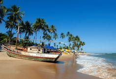 Bahia Brazil Beaches | Filename: Brazil Bahia Guarajuba0.jpg