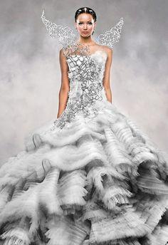 Katniss Everdeen  Love this dress!