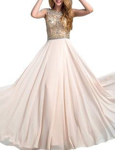 fea63ba093 Amazon.com  LovingDress Women s Prom Dresses Tulle Bodice with Chiffon Long  Evening Dress  Clothing