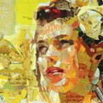 Uses for Old Magazines:  Make Art! I recently discovered artist Derek Gores and his magazine art.  So cool!