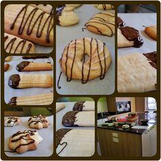 #spritz #biscuits made in the Kids' after school club yesterday.  #kidsclub #kidsinthekitchen #havingfun #learningalifeskill #dukeofedinburgh #dofe #yummy #fabbakingschool #loughton #essex #london