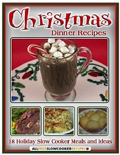 FREE e-Cookbook: 18 Crockpot Recipes for Christmas! #crockpot #recipes