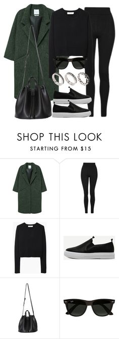 """Style #11524"" by vany-alvarado ❤ liked on Polyvore featuring MANGO, Topshop, Organic by John Patrick, Ray-Ban and ASOS"