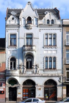 German Architecture, Vintage Architecture, Art Nouveau Architecture, Architecture Photo, Tour Around The World, Around The Worlds, Romania Travel, Old Building, Group Tours