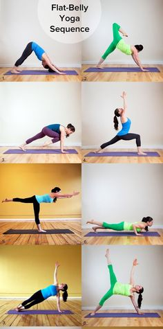 HOW TO FLATTEN YOUR BELLY IN YOGA #Health #Fitness #Trusper #Tip