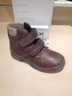 4b8cf9ef9d Boots with Upper Leather Medium Width Shoes for Boys | eBay. New Geox J  William ...