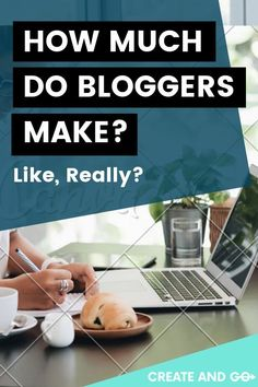 Can you really make a living blogging? The answer is yes you can - but not everyone does. We break it down for you in this article! #createandgo #howmuchdobloggersmake #makemoneyblogging #blog Make Money Blogging, Make Money From Home, How To Make Money, Earn Money, Creating A Blog, Blog Writing, Blogging For Beginners, Online Jobs, Blog Tips