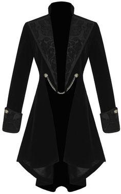 victorian velvet frock coat <3                                                                                                                                                                                 More