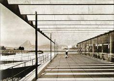 Museu de Arte Moderna, Rio de Janeiro, Brasil. Arquitectura Affonso Eduardo Reidy