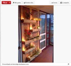 18 Ideas para decorar espacios exteriores con palets - Trucos de bricolaje