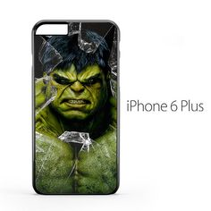 Marvel Hulk Broken Glass iPhone 6 Plus Case