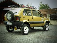 Fiat Panda 4x4. Overland? Why not...