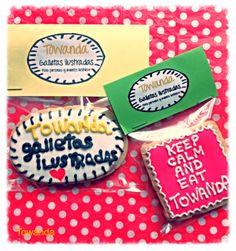 Las galletas decoradas Towanda puedes personalizarlas y hacerlas únicas. Para esa persona en la que piensas, ese evento importante, o como tarjeta de visita. Cuéntanos tu idea y la horneamos.  galletastowanda@gmail.com 620 134 271