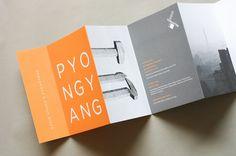 A brochure designed by Amanda Jane Jones for a #photography exhibit.