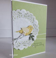 stampin with beemybear: Geburtstagskarte